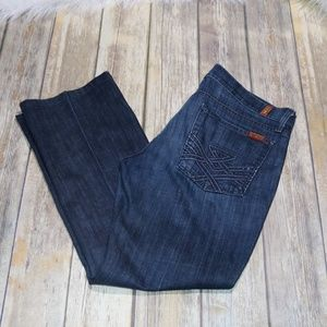 7 For All Mankind Bootcut 31 x 27